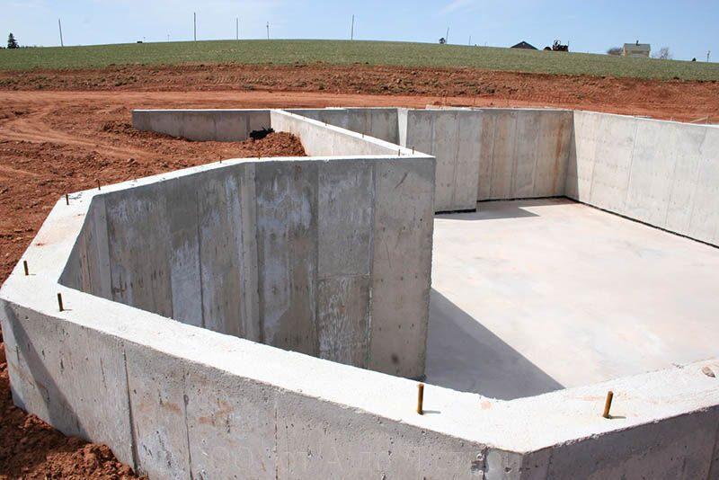Фундамент из бетонных блоков своими руками