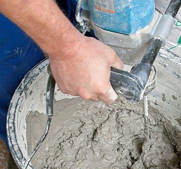 Сухие бетонные смеси расход оргалит бетон