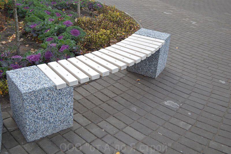 Архитектурный бетон скамейки купить бетон в уфе дешево